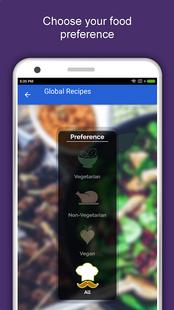 Screenshots - Global Recipes: World Cuisines: Free Offline Foods