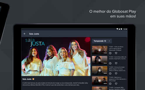 Screenshots - Globosat Play: Programas de TV