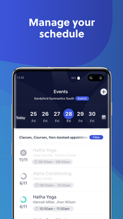 Screenshots - Glofox Pro - Staff App