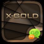 GO SMS X-GOLD THEME