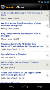 Screenshots - Golden State Basketball News