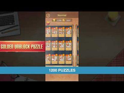 Video Image - Golden Unblock Puzzle