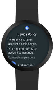 Screenshots - Google Apps Device Policy