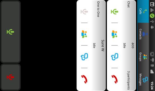 Screenshots - GoPTT - Walkie Talkie for business