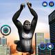Gorilla Ropehero Gangster Crime City Flying Hero