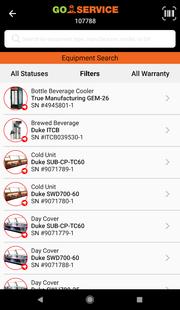 Screenshots - GoService for Operators