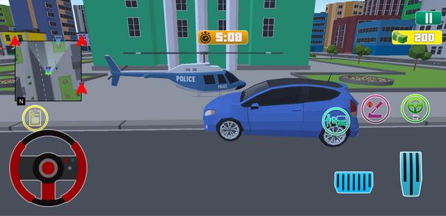 Screenshots - Grand City Theft War: Polygon Open World Crime