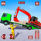 Grand Truck Transport Heavy Excavator Games