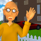 Grandpa Neighbor. Bald Teacher Escape
