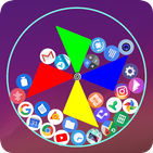 Gravity launcher 3D Rolling icons emojis photos
