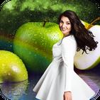 Green Apple Photo Frame