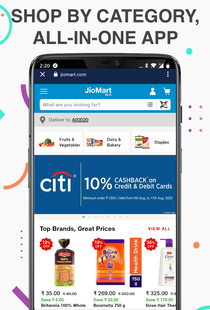 Screenshots - Grocery Shopping App for Grofers BigBasket Jiomart