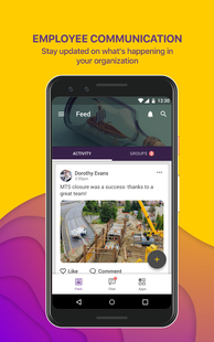 Screenshots - Groupe.io - Secure employee communication
