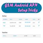 GSM Android APN Setup