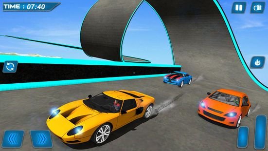 Screenshots - GT Racing: Skydrive stunt Timeless Race simulator