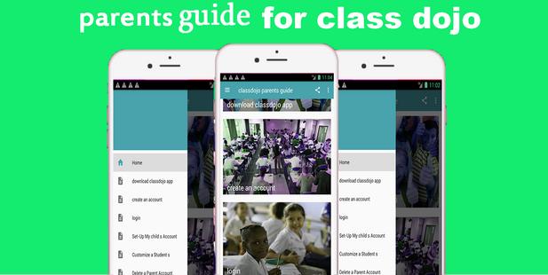 Screenshots - Guide for ClassDojo - parents  and Teachers Guide
