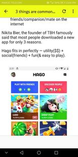 Screenshots - Guide for HAGO game app - Let's play with friends