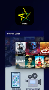 Screenshots - Guide For Hotstar : Free HD Live TV Channel 2021