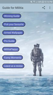 Screenshots - Guide for Mini Militia - Classic