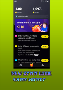 Screenshots - Guide For ZYYN To Earn Money