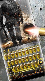 Screenshots - Gun Bullet Battle Keyboard Theme