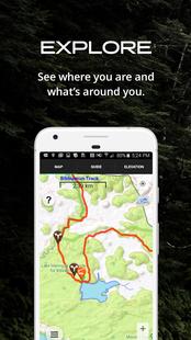 Screenshots - Guthook Guides Australia & New Zealand