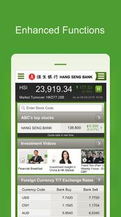 Screenshots - Hang Seng Market Info