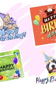 Screenshots - Happy Birthday Greeting Cards And GIF