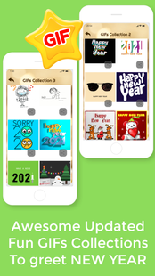 Screenshots - Happy New Year Countdown 2021 Cards GIF