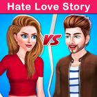 Hate Love Story : College Love Drama Story Game