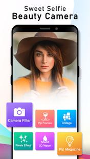 Screenshots - HD Beauty Camera : Photo Editor (Collage + PIP)