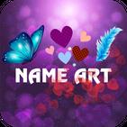 Heart Name Art: Focus Filter & Wallpaper Maker