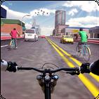 Heavy Bicycle Racing & Quad Stunts