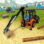 Heavy Excavator Crane Simulator Construction Games