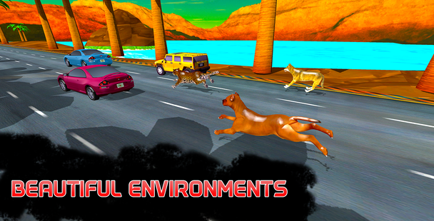 Screenshots - Heavy Traffic: Wild Animals Racing Simulator