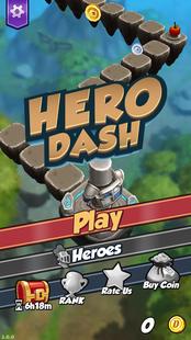 Screenshots - HERO DASH - Dicast spinoff mini game