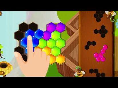 Video Image - Hexa Hive Puzzle : hexagon block game