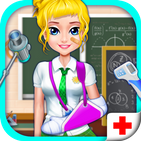 High School ER Emergency Doctor Simulator Games