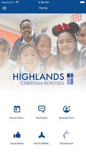 Screenshots - Highlands Christian Schools