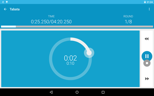Screenshots - HIIT - interval training timer