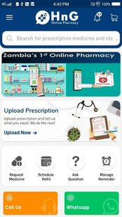 Screenshots - HnG Online Pharmacy