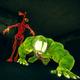 Horror Siren Head - Haunted House Scary Lizard