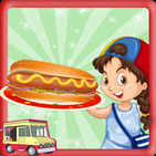 Hot Dog Cooking Mania - Street Food Cashier Games
