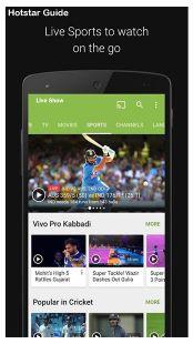Screenshots - Hotstar Live Cricket - Free Streaming Movies Guide