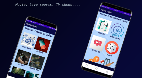 Screenshots - Hotstar Live TV Shows - Movies & Streaming Guides