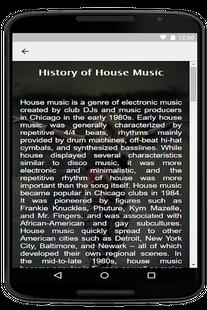 Screenshots - House music radio