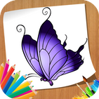 How to Draw Butterfly - Step by Step