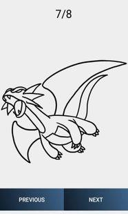 Screenshots - How to Draw Dragon