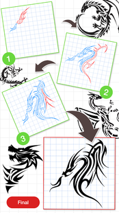 Screenshots - How To Draw Dragon