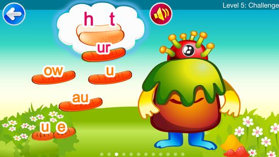 Screenshots - Howie Find Vowels Lite